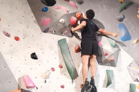 Learn bouldering!